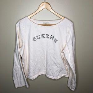 Madewell Queens Shirt Size XL